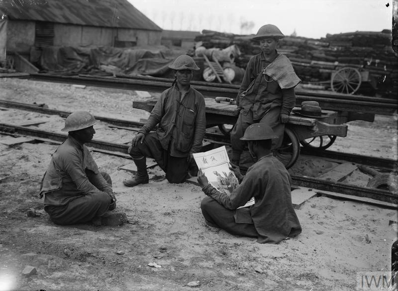 Chinese Labour Corps – Library of Birmingham