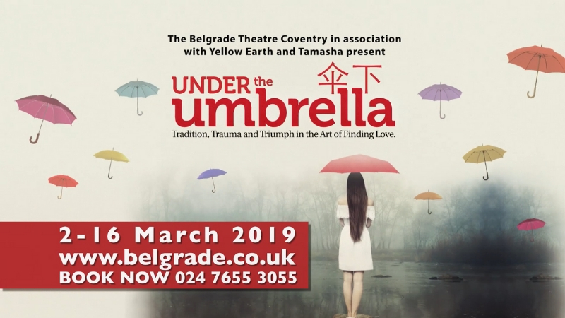 Under the Umbrella shines a spotlight on Coventry's Chinese community at the Belgrade Theatre